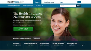 healthcare.gov website